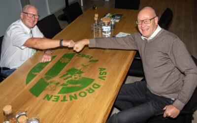 Rugby Club Dronten en asv Dronten tekenen intentieverklaring