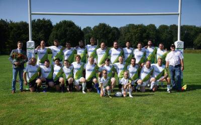 Officiële opening van ons rugbyveld